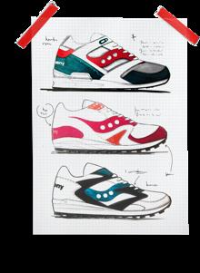 shoe sketches